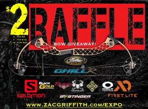 ZAC GRIFFITH RAFFLE